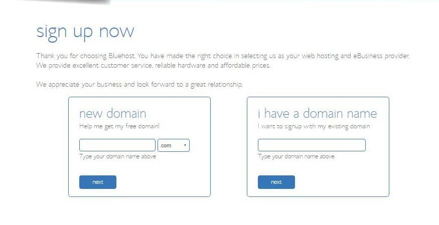 how to start a new wordpress blog with bluehost