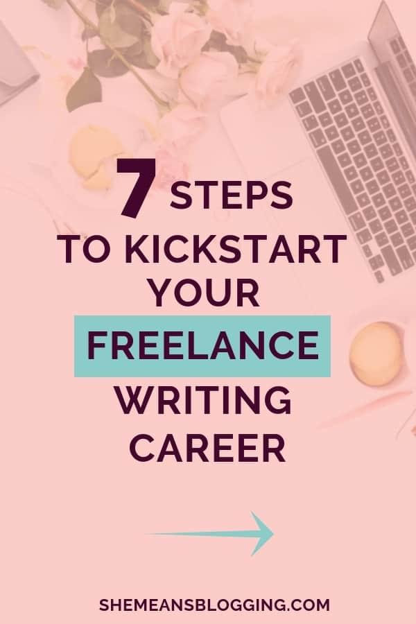 Tips to build your freelance writing career,freelancing writing, make money freelancing, starting a blog, building a website, freelance portfolio