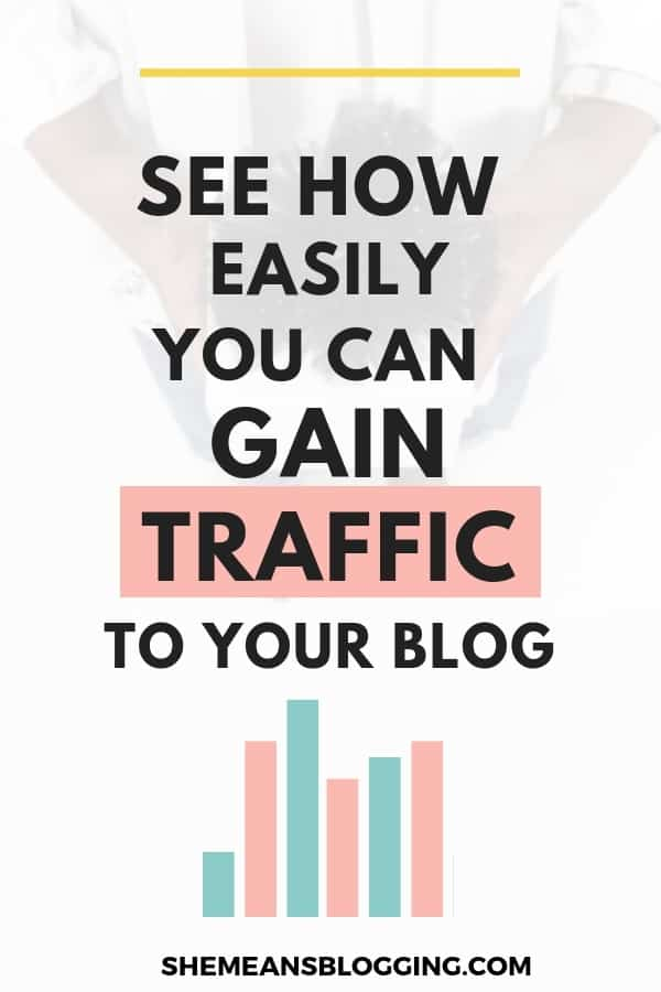 New to blogging? Click to find out how easily you can gain traffic to your new blog. It's totally possible and all you know is some strategies #bloggingtips #blogging