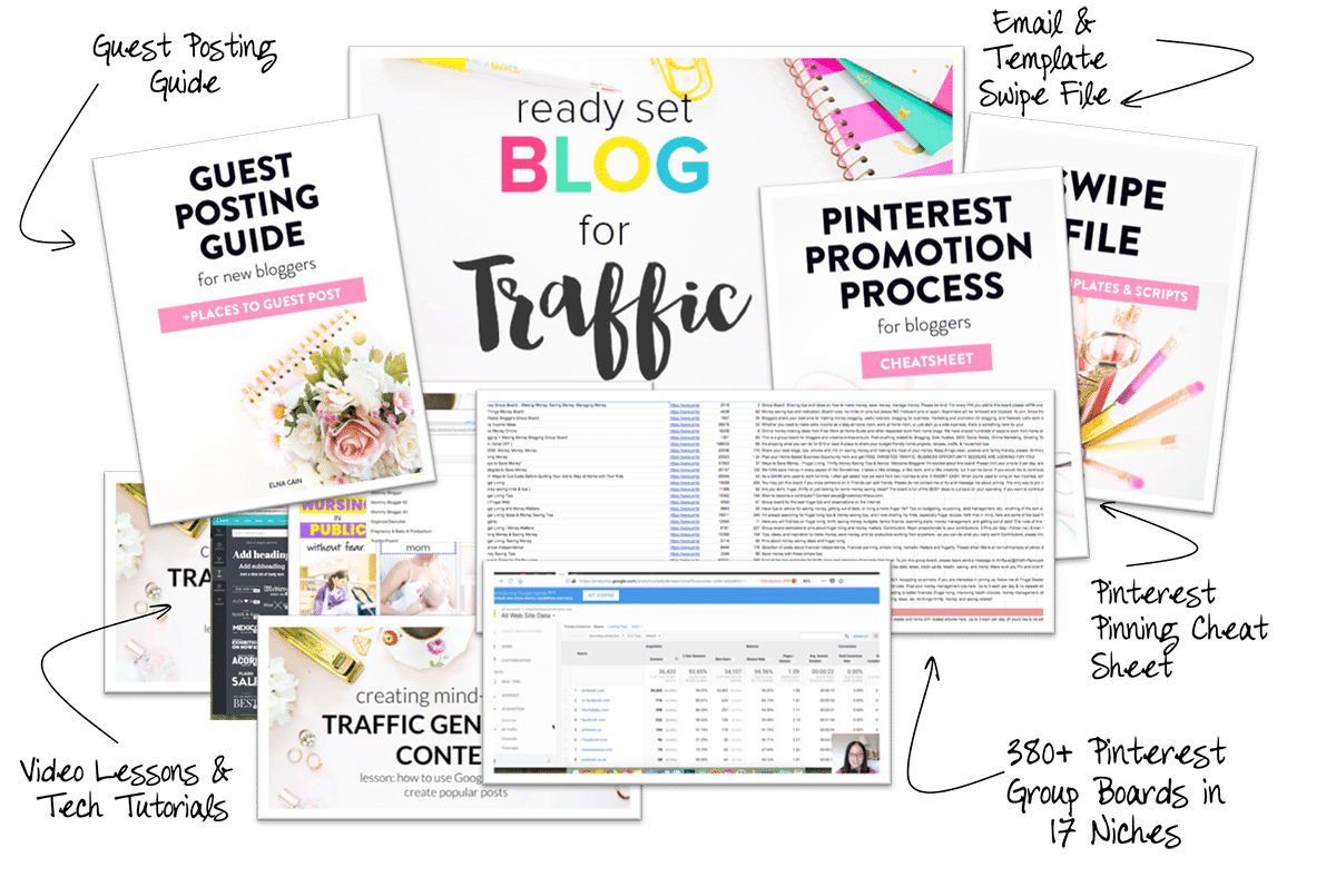 blog traffic course for bloggers