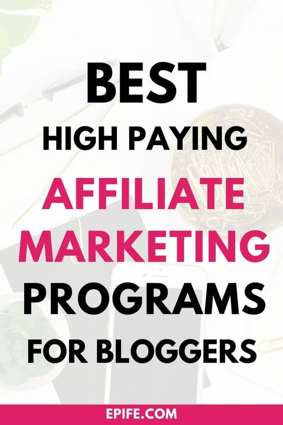 Looking for new affiliate marketing programs for your blog? Here's a list of high paying affiliate marketing programs for bloggers in all niches. Pick best affiliate program and make money!