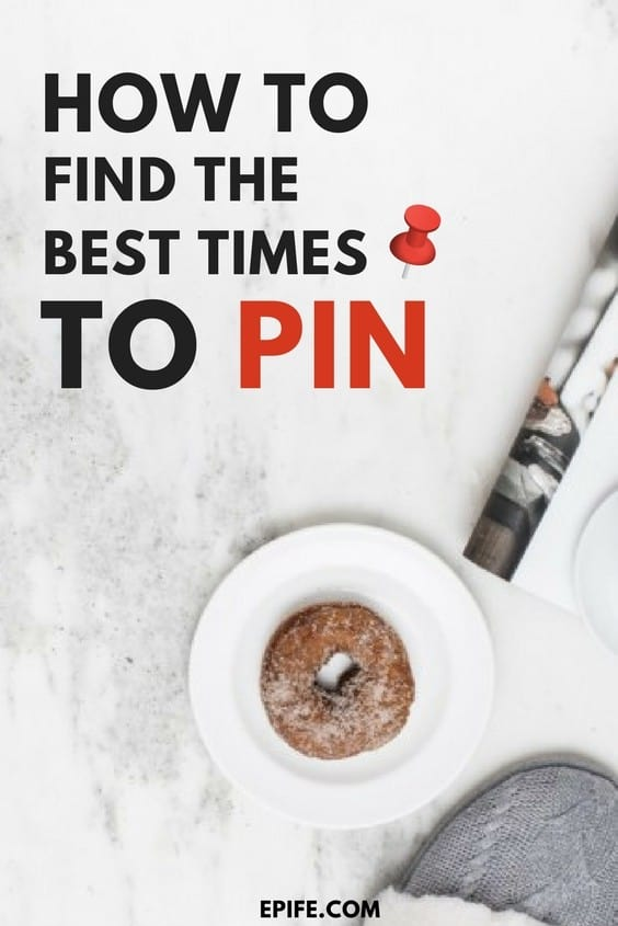 Don't know when to pin? Click to find out the best times to pin on Pinterest! Know the best times for Pinterest for more traffic.