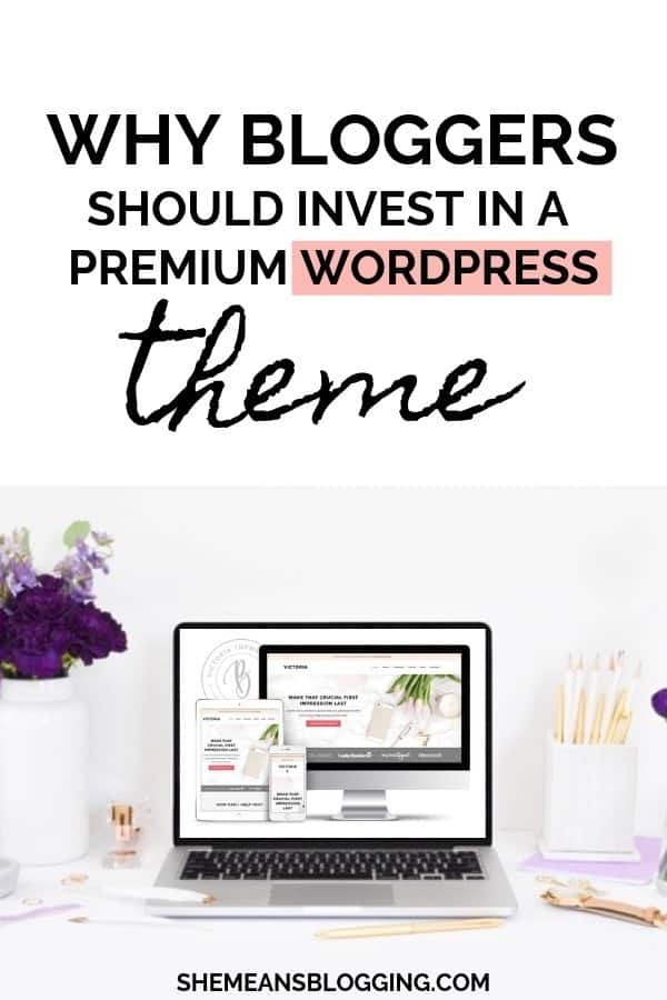 Investing in a premium wordpress theme is a wise decision? If you're unsure then read this post before buying a new wordpress theme design! Find out why bloggers must invest in a website theme. #themes #wordpress #templates