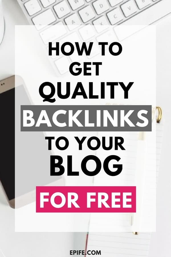 Backlinks are essentially important for website SEO. Follow these authentic methods to get quality backlinks to your blog for free! Know all about how to create free backlinks and increase your overall traffic. #blogging #bloggingtips #blog #seo #seotips #marketing