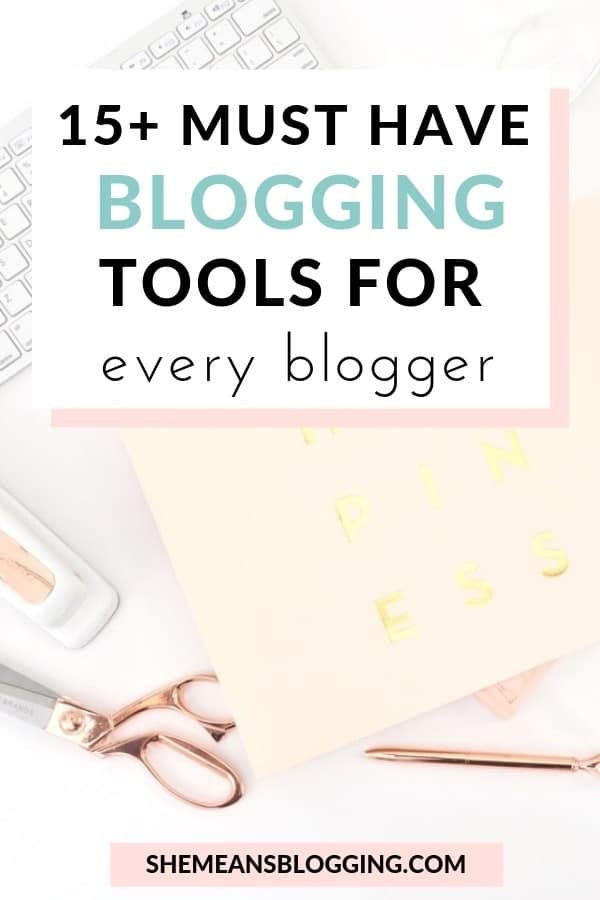 15+ blogging tools for almost every blogger! And, most of these are free blogging tools and I use them everyday to grow my own blog. Have a look at free blogging tools for bloggers! #blogging #blog #blogtips