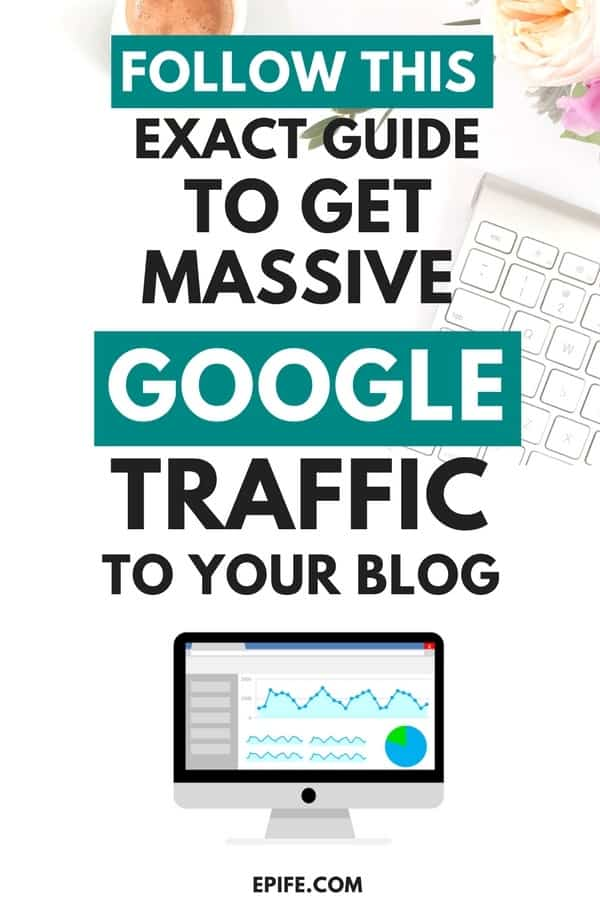 The definitive guide shows how to get free google traffic. Follow this step by step system to drive free organic traffic from Google. Learn best SEO tips and increase your website traffic #blogging #bloggingtips #blogtraffic #seo #marketing #google #blog