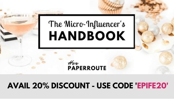 microinfluencer handbook, become a micro influencer, micro influencer marketing