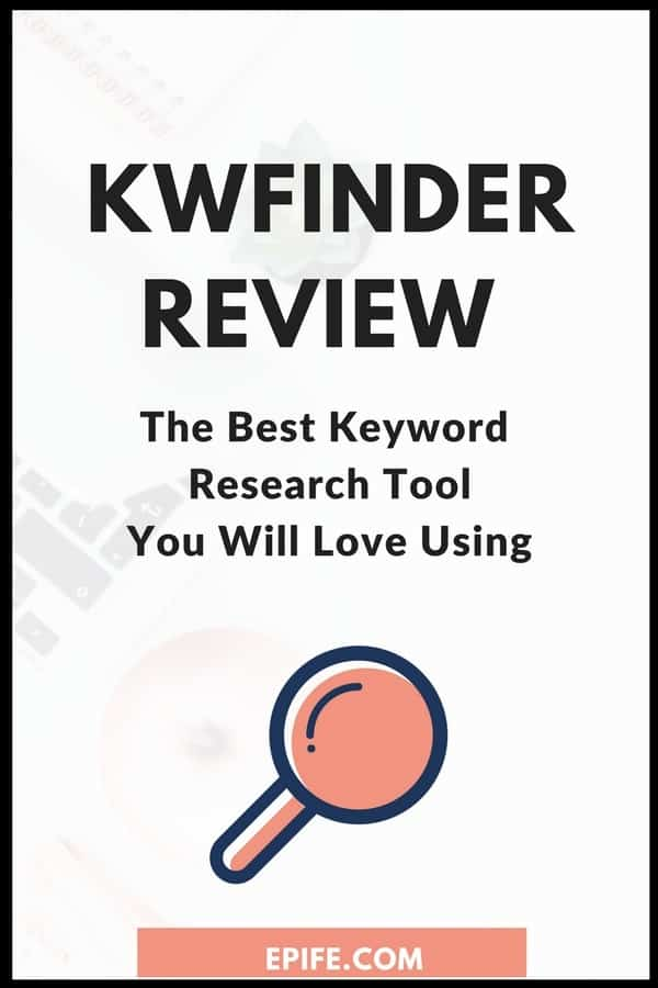Looking for the best keyword research tool? KWFinder is a keyword research tool I personally love for finding best keywords for blog content. Read on to find the kwfinder features, and how to find low-competitive keywords. #blogging #seo #keywords #bloggingtips #marketing