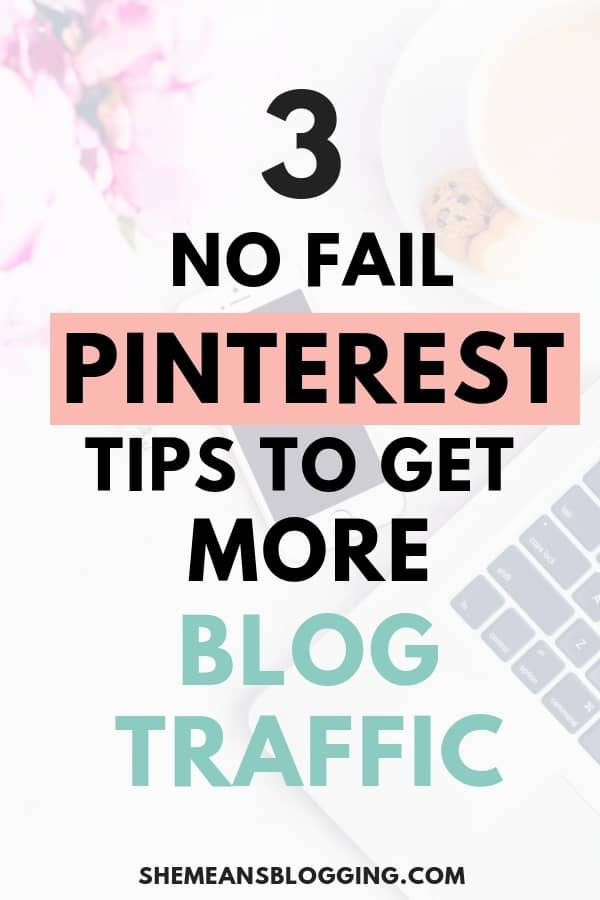Pinterest can be crazy at times! All you need is a pinning strategy and learn how to use pinterest for business. Use these no-fail pinterest tips to get more blog traffic and double your pageviews. Follow the proven pinterest tips and tricks to get results. #blogging #pinterest #pinterestmarketing #socialmedia #pinteresttips #bloggingtips