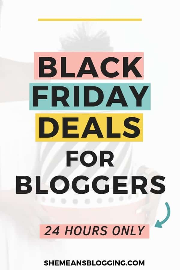 Black Friday Deals RoundUp For Bloggers And Cyber Monday Deals Upto 75% Off | Click to avail best black friday deals! Holiday deals | Best black friday deals for bloggers | black friday deals 2019 | holiday deals 2019 #blogger #blogging #blog #bloggingtips #blackfriday #blackfridaydeals #cybermonday