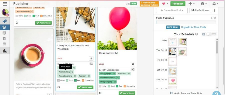 how to find top instagram hashtags, best instagram hashtags, tailwind hashtag finder