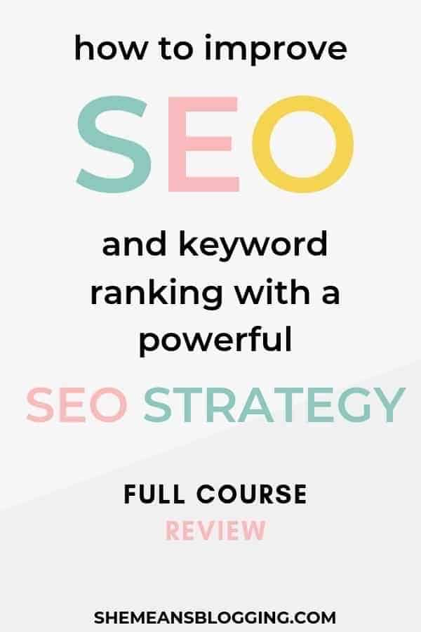How to improve SEO and keyword rankings with SEO Demystified. Learn an effective SEO strategy to rank on first pages of search engine results. Find out best SEO tips here! #seo #bloggingtips #searchengineoptimization #BlogTips