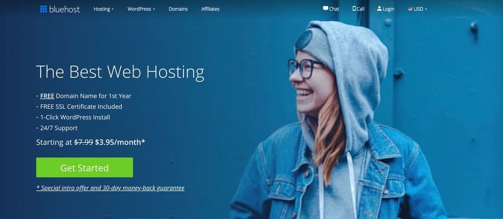 how to start a blog in 2019 with bluehost