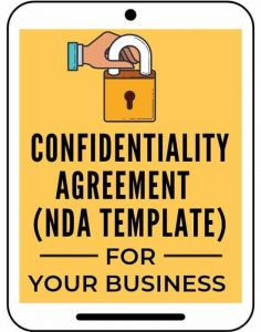 confidentiality agreement NDA template