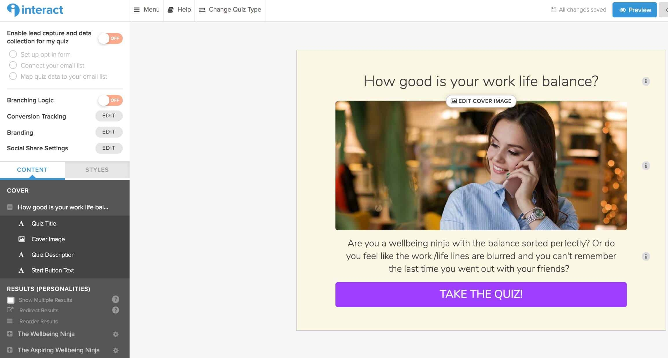 How to create an interactive quiz to grow your email list