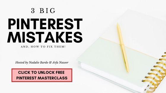 pinterest masterclass on big pinterest mistakes