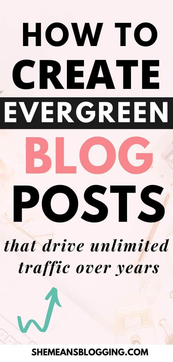 How to create evergreen blog posts that drive website traffic, make new sales, and get email subscribers on autopilot! Learn the top evergreen content strategy to create content that converts fast. In this post, I show you all the steps you must do to create a perfect blog posts that rank for SEO, and build blog audience. #bloggingtips #contentmarketing #contentmarketingtips #blogtips