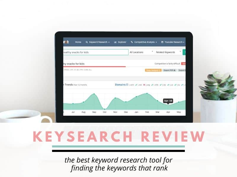 keysearch review. Discussing keysearch features and finding keywords with this keyword research tool.