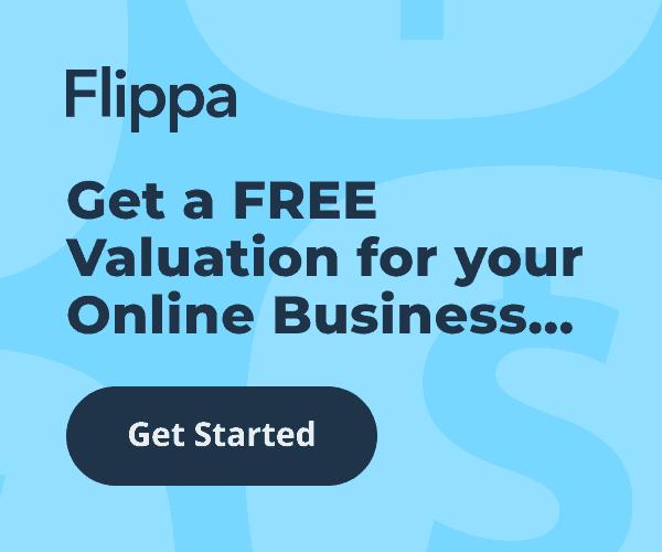 Flippa valuation tool