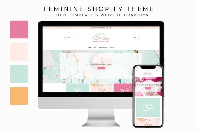 feminine theme for shop owners