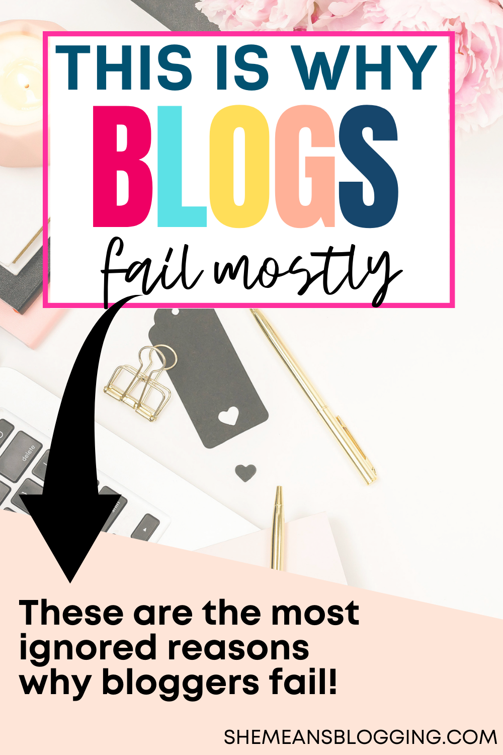 Why do most blogs fail? Or, bloggers quit blogging? Some bloggers have no idea what did go wrong! So, in this post, find out 13 ignored reasons that cost blogging failure and what to do to grow a successful blog. Check out these blogging tips now #bloggingforbeginner #bloggingtips