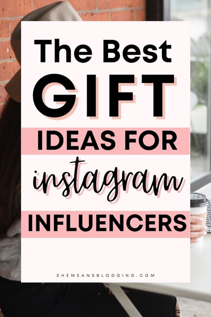 The best gift ideas for instagram influencers. Check out some cool gift ideas for bloggers and instagram bloggers. Pick the best gift for bloggers with this practical bloggers gift guide. Find tons of gift ideas and inspiration here. #bloggingforbeginners