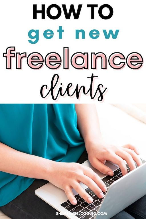 How to get new freelance clients to grow your freelance business. Here are 5 budget friendly tips to find new freelance clients to get paid. #freelancing