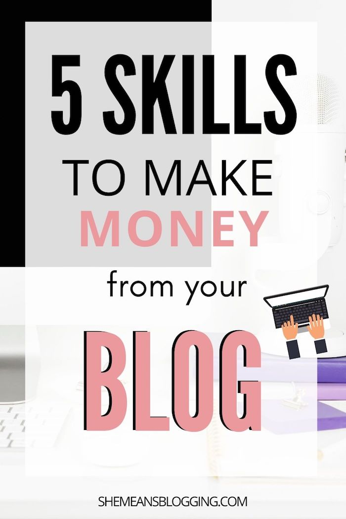 Learn 5 essential skills to make money through your blog. It's possible! Making money online with blog can be done easily, even if you are a beginner blogger with small blog traffic. You can make money from blogging at home. Yes! Want to know how? Click to read 5 major tips to making money through your blog #makemoneyblogging