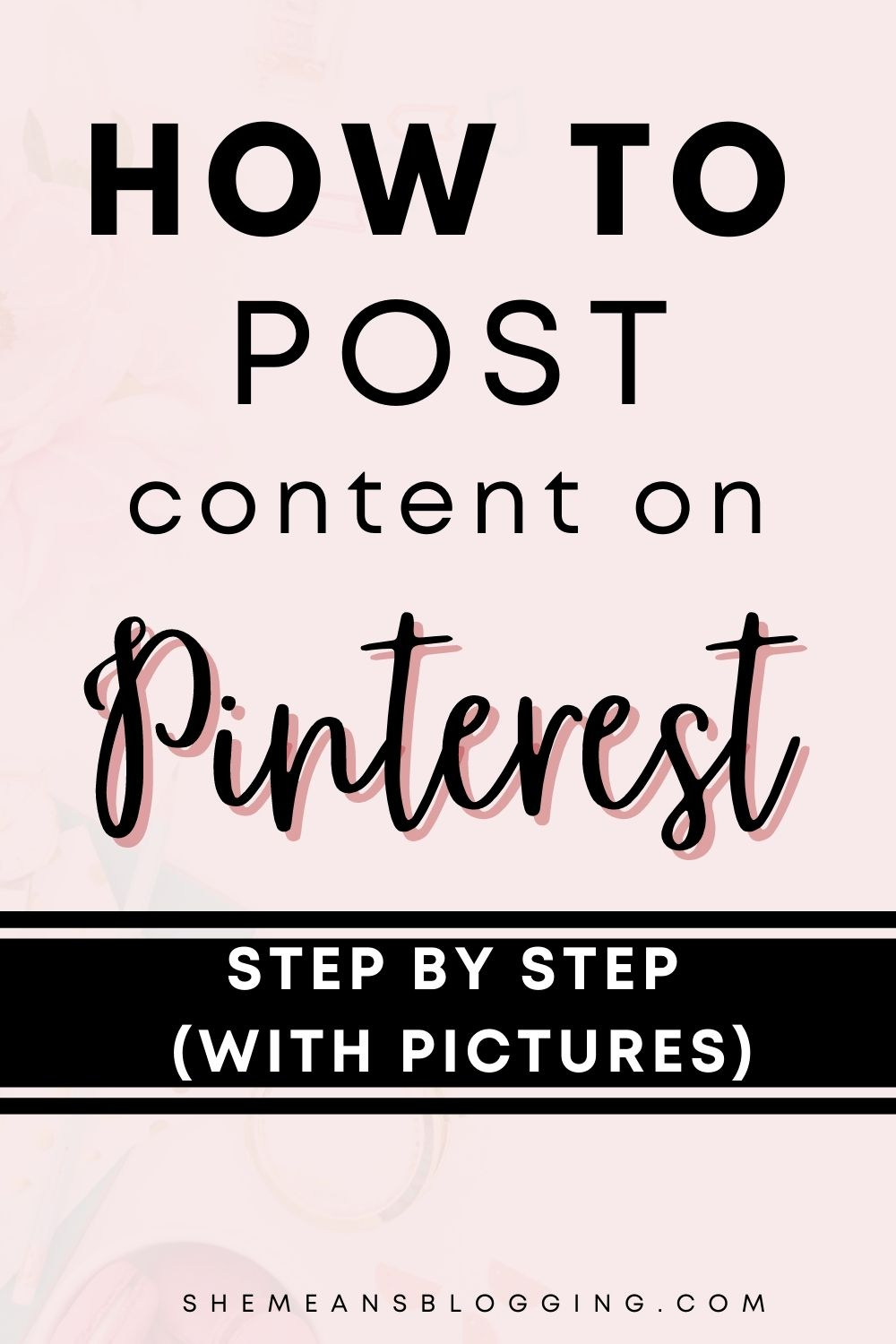 How to post content on Pinterest. Follow this step by step tutorial to upload photos on Pinterest. Add content to pinterest with this tutorial. Drive Pinterest traffic with publishing content on pinterest. Pinterest for beginners #pinterestmarketing