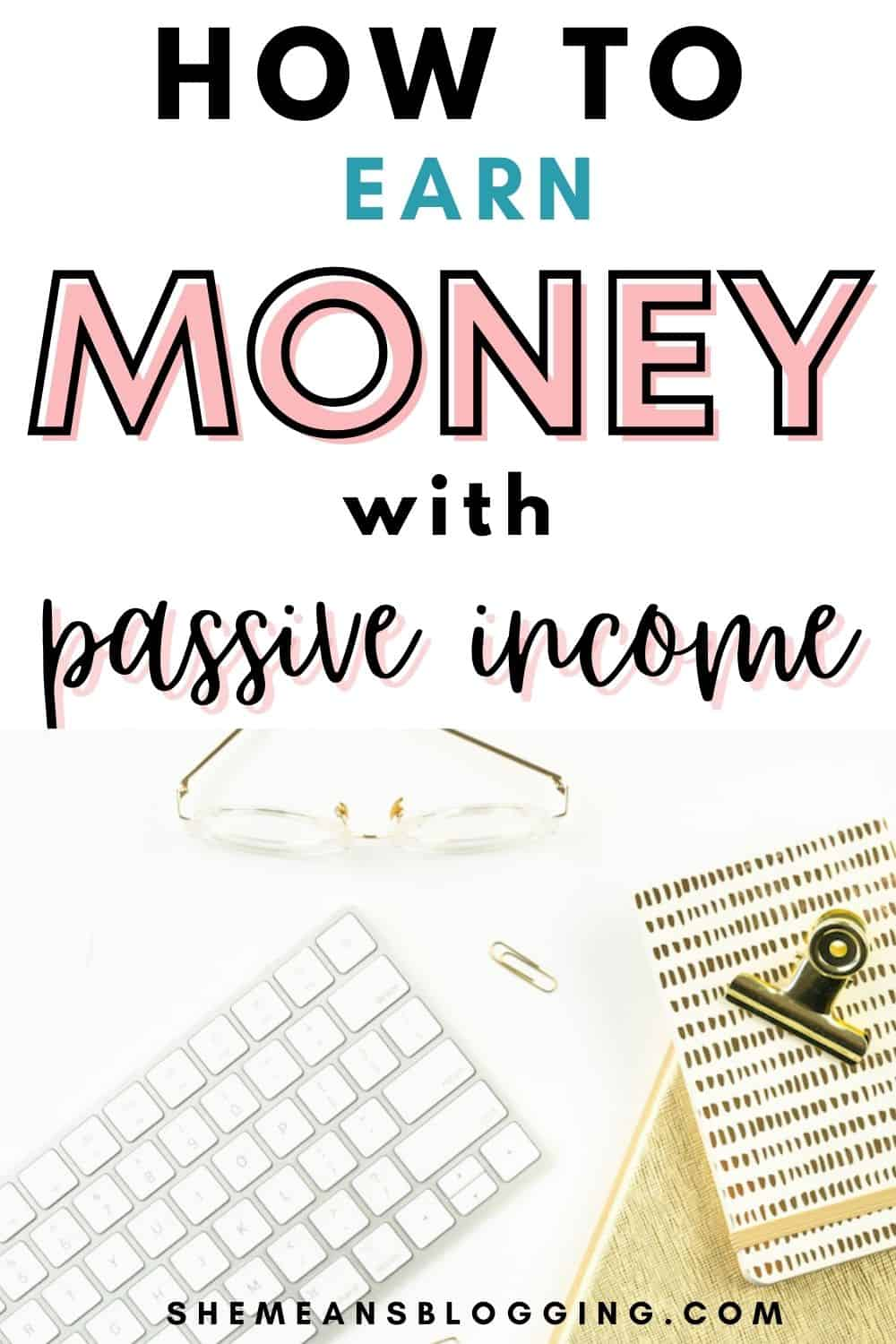 Earning passive income from blogging. How to make money from passive income? Check out 5 passive income ideas for bloggers and small businesses. Learn how to make money from blogging and grow passive income.