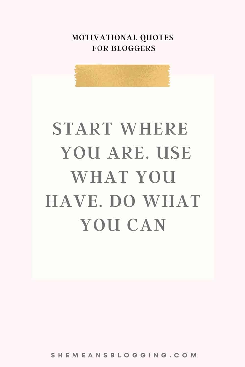 motivational quotes for bloggers, inspiring quotes for entrepreneurs