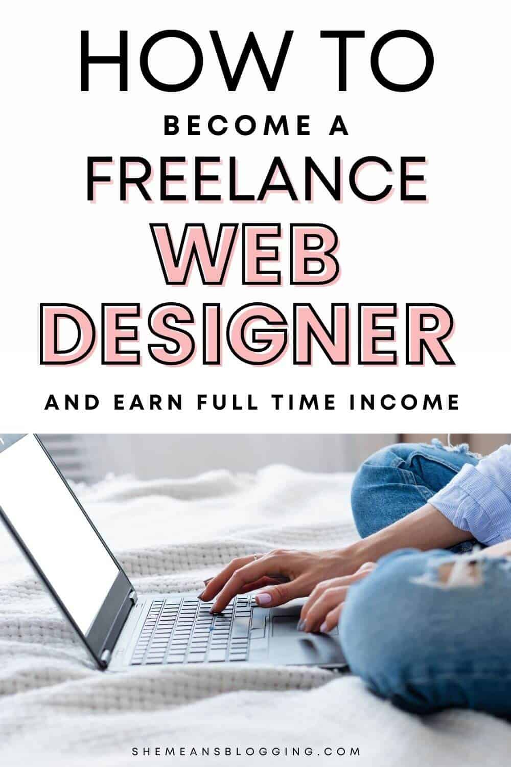 How to become a freelance web designer at home and earn full time income? Learn how to earn money with freelance web designing skills. Find out how to earn money with freelance web design at home. Click to read how this freelancer makes money online.