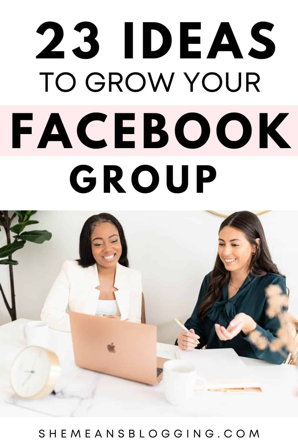 Want to grow your facebook group to thousands of members? Use these 25 different ways to promote a facebook group! Use these promotional strategies to grow a facebook group easily