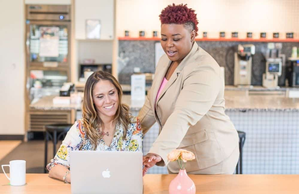 women entrepreneurs working to be productive.