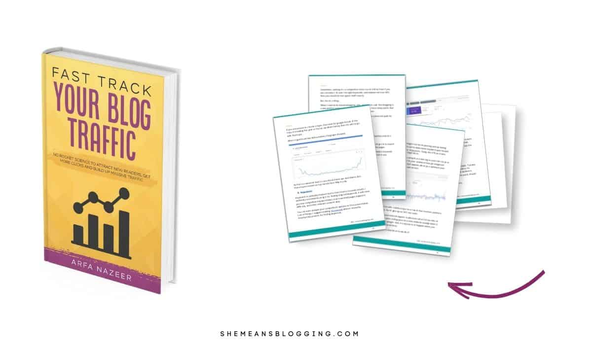 fast track your blog traffic ebook