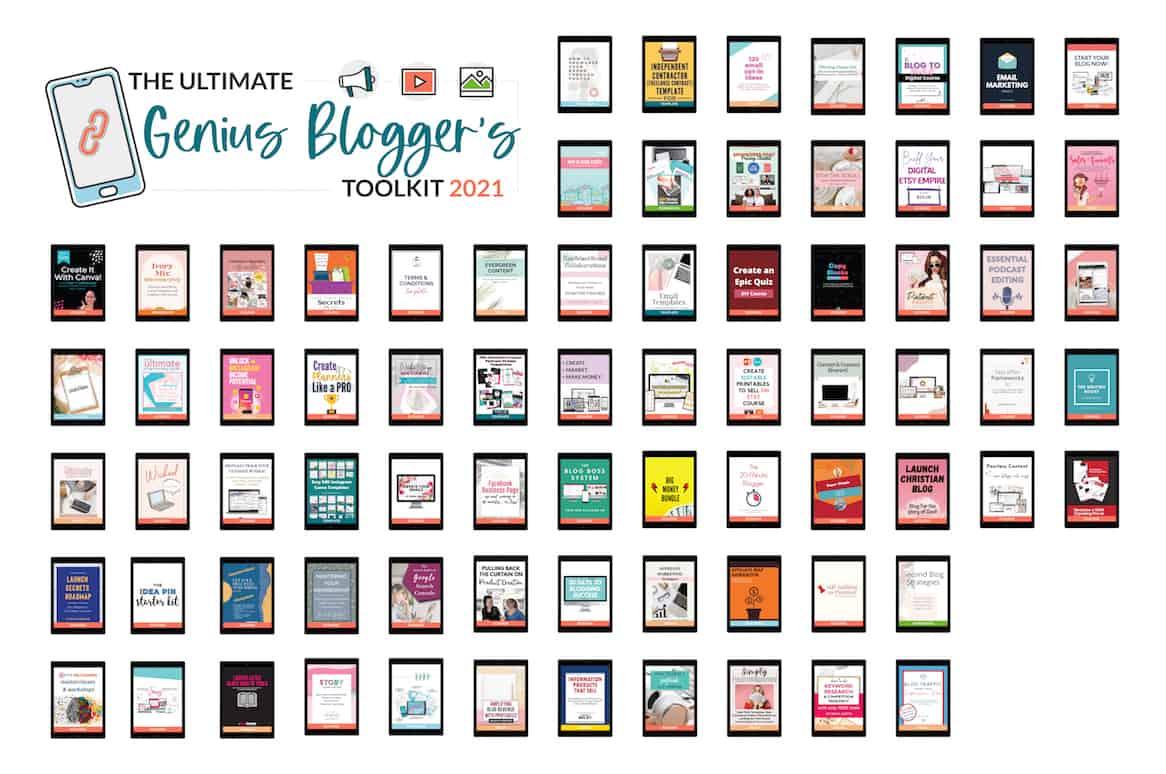 genius bloggers toolkit 2021